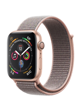 New Apple Watch Series 4 40mm Gold   Pink Sand Sport Loop   Cellular + Gps   New by Apple