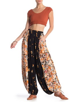 Do Your Dance Printed Pants by Free People