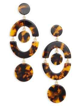 Tort Orbit Earrings by J.Crew