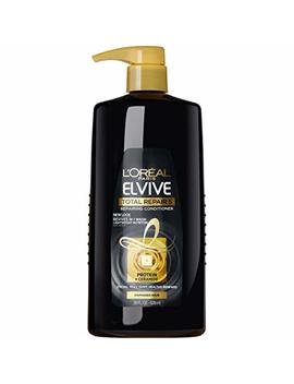 L'oréal Paris Elvive Total Repair 5 Repairing Conditioner, For Damaged Hair, Conditioner With Protein And Ceramide For Strong, Silky, Shiny, Healthy, Renewed Hair, 28 Fl. Oz. by L'oreal Paris