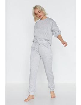 Move It Sweater And Jogger Lounge Set by Nasty Gal