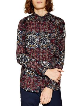 Octopaisley Print Shirt by Topman
