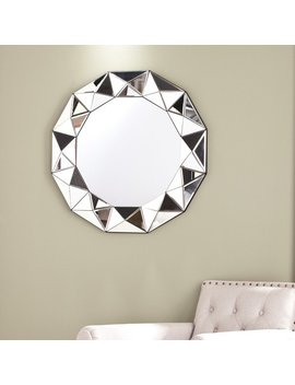Silver Orchid Olivia Decorative Mirror by Silver Orchid