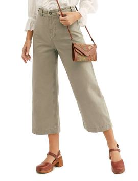 Patti Crop Cotton Pants by Free People