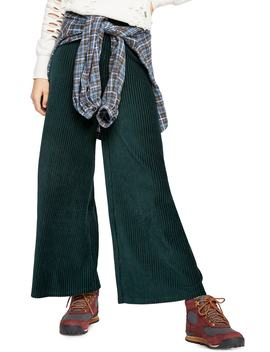 Bambi Wide Leg Corduroy Pants by Free People