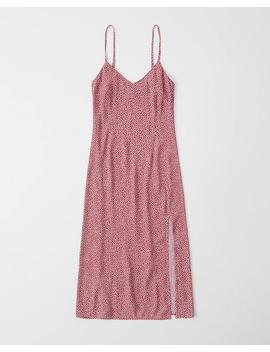 Midi Slip Dress by Abercrombie & Fitch