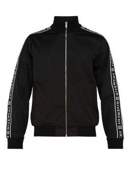 Logo Tape Jersey Track Jacket by Givenchy