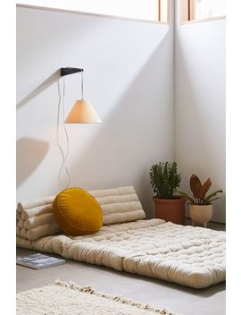 Convertible Triangle Double Floor Cushion by Urban Outfitters