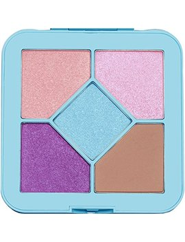 Lime Crime Pocket Candy Eyeshadow Palette (Bubblegum)   90's Style Eyeshadow Palette With 5 Full Sized Colors. by Lime Crime