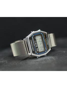"Vintage 80's ""Elektronika "" Lcd Watch. Retro Classic Digital Watch Men's. Bracelet Watch Gift For Him by Etsy"