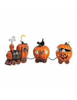 1 X The Pumpkin Express Train   Decorative Accessories by Fun Express