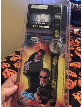 Men In Black Lcd Watch Gordy Time by Etsy