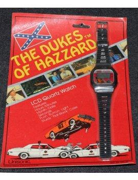 Dukes Of Hazzard 1981 Unisonic Lcd Digital Quartz Watch Moc by Etsy