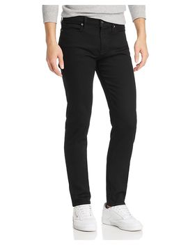Jagger Skinny Fit Jeans In Noir by Frame