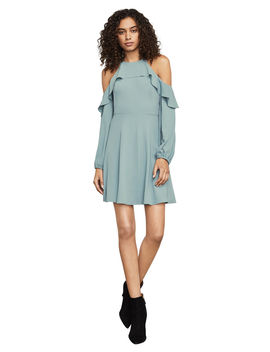 Katryna Cold Shoulder A Line Dress by Bcbgmaxazria