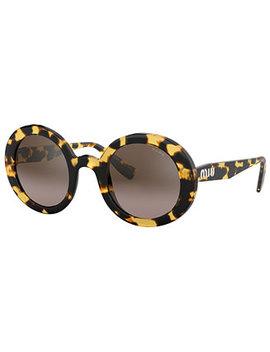 Sunglasses, Mu 06 Us 48 by Miu Miu