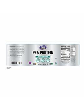 Now Sports Pea Protein Dutch Chocolate Powder, 2 Pounds by Now Foods