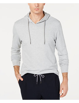 Men's Textured Hoodie, Created For Macy's by Tasso Elba