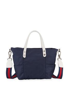 Peyton Mini Nylon Crossbody Bag by Neiman Marcus