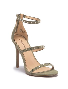 Beatha Studded High Heel Sandal by Ziginy