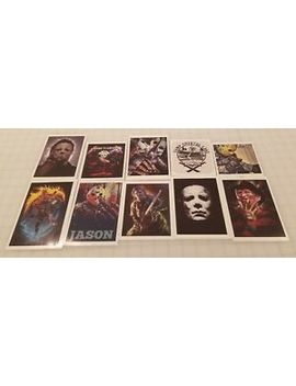 10 Horror Decals (Friday The 13th, Michael Myers, Freddy Krueger & More) by Ebay Seller