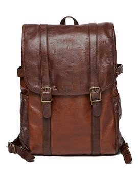 Crews Leather Backpack by Moore & Giles