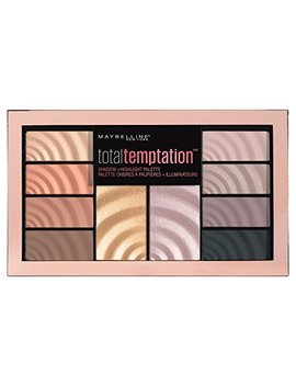 Maybelline Total Temptation Eyeshadow + Highlight Palette, 0.42 Oz. by Maybelline New York