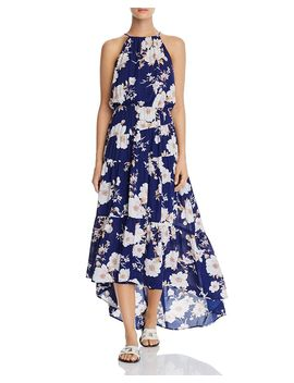 Tiered Floral High/Low Dress   100% Exclusive by Aqua