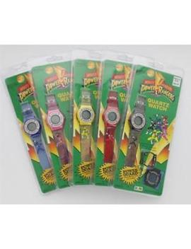 Mighty Morphin Power Rangers Quartz Watch With Lens Protector, Variety Of Colors by Hope Industries