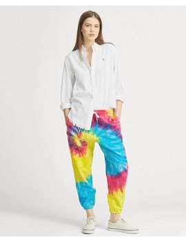 Tie Dye French Terry Sweatpant by Ralph Lauren