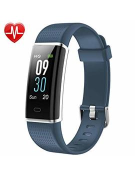 Willful Fitness Tracker, Heart Rate Monitor Fitness Watch Activity Tracker(14 Modes) Pedometer With Step Counter Sleep Monitor Call Sms Sns Notice For Women Men Kids (Color Screen,Ip68 Waterproof) by Willful