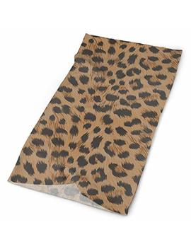 Yisliferunaz Art Cheetah Leopard Print Headband Unisex Headwrap Magic Head Scarf Bandana Headwear Neckerchief Quick Dry Hairband Soft Headdress Foulard Face Mask Neck Gaiter by Yisliferunaz