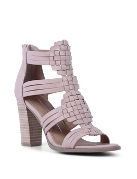 Woven Heeled Sandal by Report