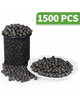 Luck In Slingshot Ammo Ball, Slingshot Clay Ball 3/8 Inch, 10mm Slingshot Clay Ammo Biodegradable, Soil Color, 1500 Pcs by Luck In