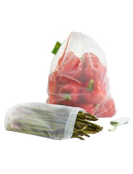 White Reusable Produce Bags Pkg by Container Store