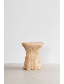 Pierce Wicker Side Table by Urban Outfitters