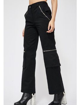 Digital Wave Cargo Pants by