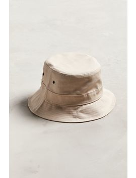 Uo Pink Canvas Bucket Hat by Urban Outfitters