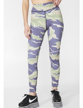Camo Sports Leggings by Dimepiece