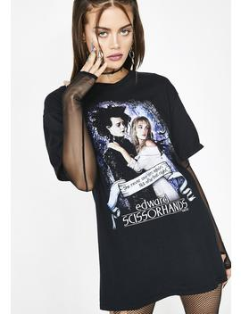 Scissor Hands Short Sleeve Tee by