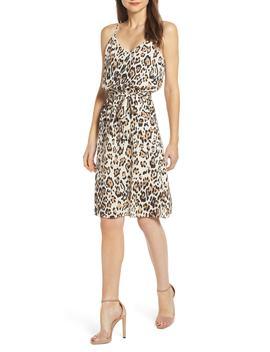 Tie Waist Midi Dress by Socialite