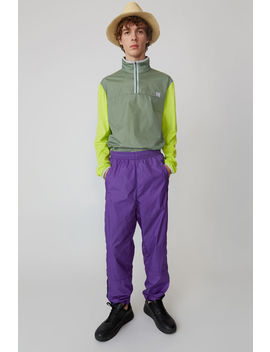 track-pants-violet-purple by acne-studios