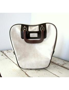 Vintage Bowling Ball Bag by Etsy