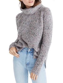 Colorfleck Ribbed Turtleneck Sweater by Madewell