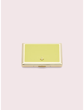 Spade Street Gold I.D. Holder by Kate Spade
