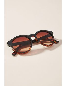 Odette Rounded Sunglasses by Anthropologie