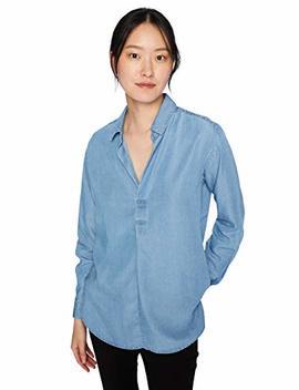 Daily Ritual Women's Tencel Shirt by Daily Ritual