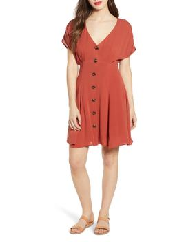 Button Front Prairie Minidress by Bp.