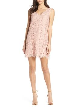 Sleeveless Lace Shift Dress by Bb Dakota
