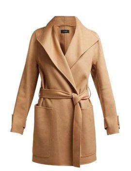 Lista Wool Blend Coat by Joseph